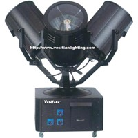 Three heads sky searchlight xeon lamps DMX512 auto running outdoor light