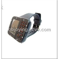 Tri-band dual sim dual standby mobile phone watch AK10 single sim