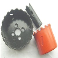 Tungsten Carbide Grit Hole Saws with teeth