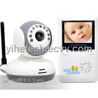 Two way Audio Function 2.4GHz Portable Wireless WiFi-friendly Digital Baby Wireless Video Camera