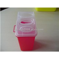 Used Disposable Syringe Needle Container