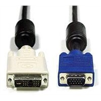 VGA Cable/VGA to DVI Cable/VGA 15 Pin to DVI 25pin Cable