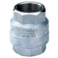 Vertical Check Valve thread end