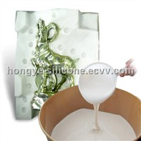 White Liquid Concrete Moulding RTV Mould Making Silicone