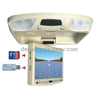 High Definition Flip Down TFT-LED Monitor with DVD (XDU-9002)