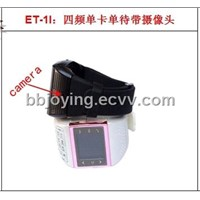 ET-1i a 1.3 million-pixel camera phone watch single sim