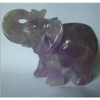 gemstone animal figurine
