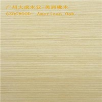 artificial wood veneer , American Oak veneer