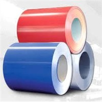 Colored Coated Steel Coil