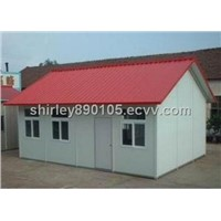 Easy to Assemble and Disassemble Prefabricated Steel Structure House