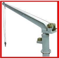 Electric or Hydraulic Provision Davit Crane