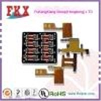 flex pcb for the electronic with gold plating 2-8layers