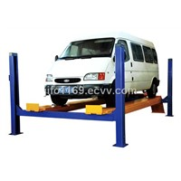 Four Post Auto Lift - Car Stacker, Hydraulic Lifts-Hoist