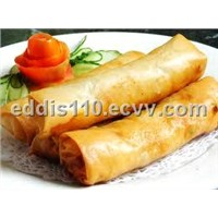 frozen vegetarine spring roll
