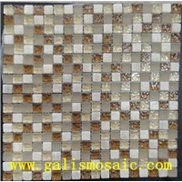 glass and stone mosaic