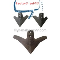 good quality 60si2Mn(65Mn) steel forging duck leg chisel plow