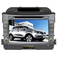 In-Dash Car DVD Palyer with GPS for Kia New Sportage
