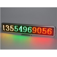 led desk message sign,led mini rechargeable electronic panel