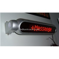 led electronic panel with remote control