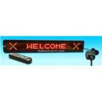 LED English Message Sign Display with Remote Control