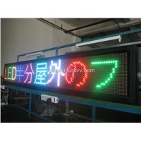 LED Full Color Message Display Board