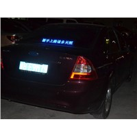 LED Message Moving Sign for Car (c16128)