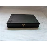 luxurious high glossy lacquer wooden box