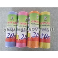 Nonwoven Cleaning Cloth Roll