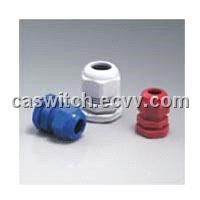 nylon cable gland grey color black color
