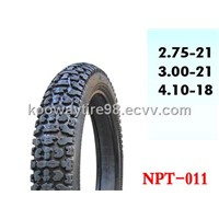 Off Road Motorcycle Tyres (2.75-21, 3.00-21, 4.10-18)