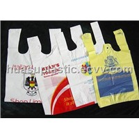 Plastic HDPE/LDPE T-Shirt Bags