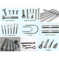 stainless steel hex bolts(DIN933/DIN931) / hex cap screw AISI A2 A4
