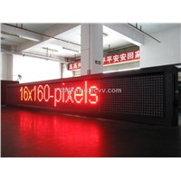 Three Color LED Messge Moving Sign