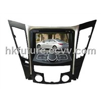 touch screen car dvd gps player with digital tv for Hyundai New Sonata