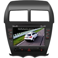 touch screen car dvd player with gps for Mitsubishi ASX
