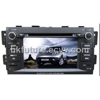 touch screen car navigation system car audio for KIA BORREGO