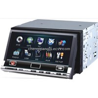 two din car dvd player with gps