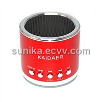 usb mini speaker with sd card slot and fm radio