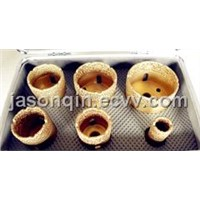 Vacuum Brazed Diamond Core Dirll Kit