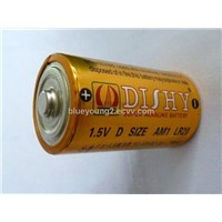dishy hot sale dry alkaline LR20 battery