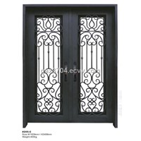 Square iron double door HT-205C