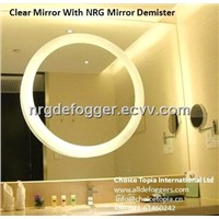 led bathroom mirrors demister