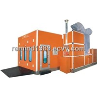 spray booth for auto  bus truck