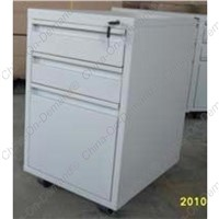 S shape 3 drawers Pedestal Cabinet AS1793