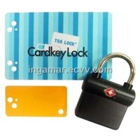 Our Newest Product - Tsa Key Card Lock (LKOT-0633)