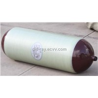 CNG hoop wrapped steel lined cylinders for vehicles