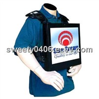 17 Inch Backpack LCD Advertising Player
