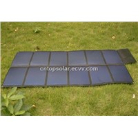 80W/18V Portable Folding Solar Panel Charger