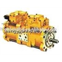Kobelco Excavator Hydraulic pump K3V112DT and parts SK350