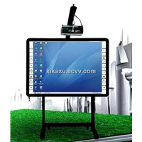 New 82 inch Infrared Electronic Whiteboard  with Smart Pen-tray